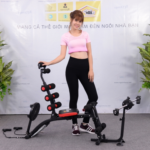Máy tập bụng New Six Pack Care New 2018