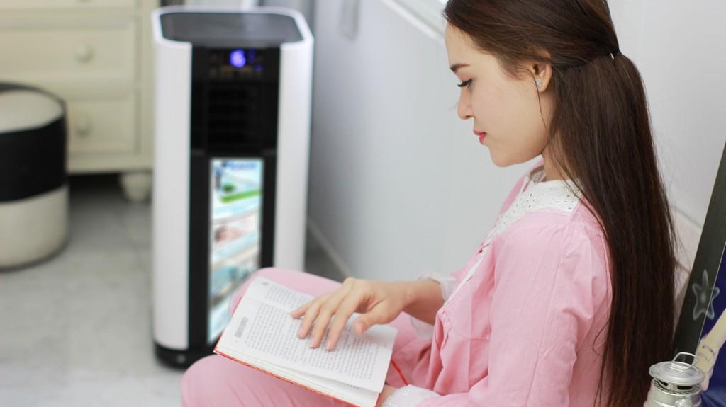 máy làm lạnh kachi thiết lập chế đọ tự động thông minh rất tiện lợi