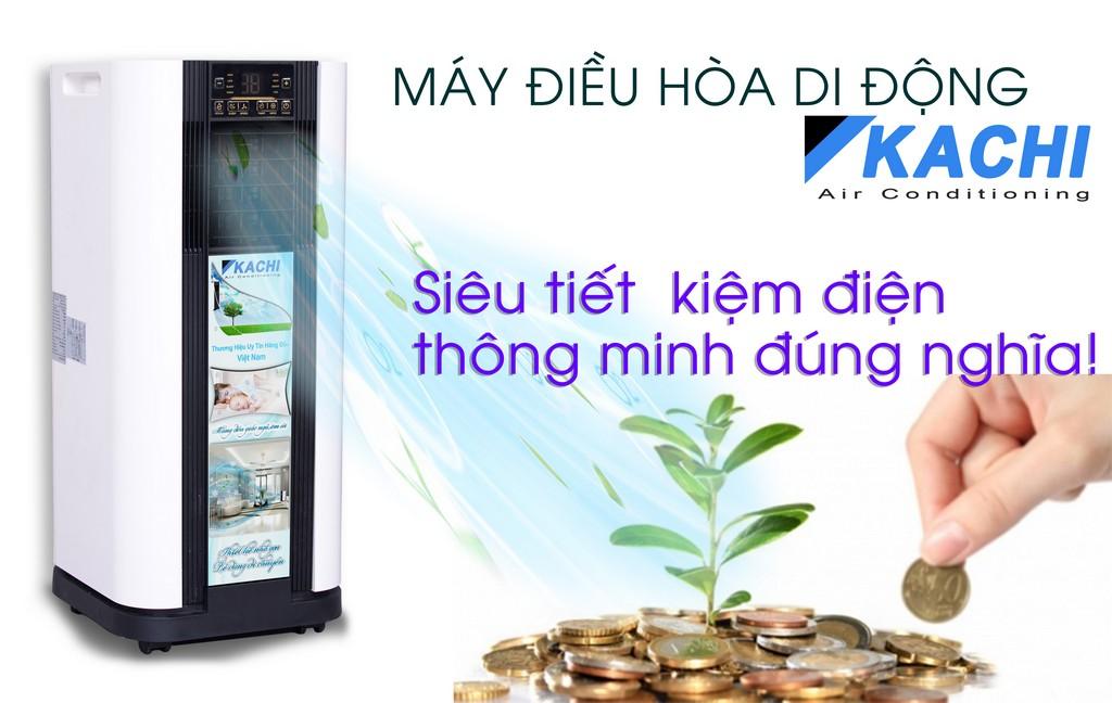 máy làm lạnh kachi tist kiệm chi phí sử dụng đúng nghĩa
