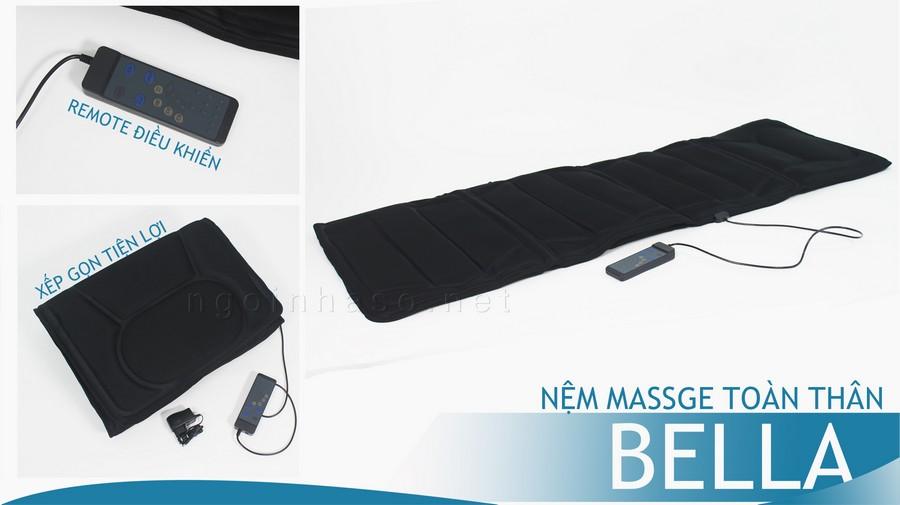 Nệm massage toàn thân bella