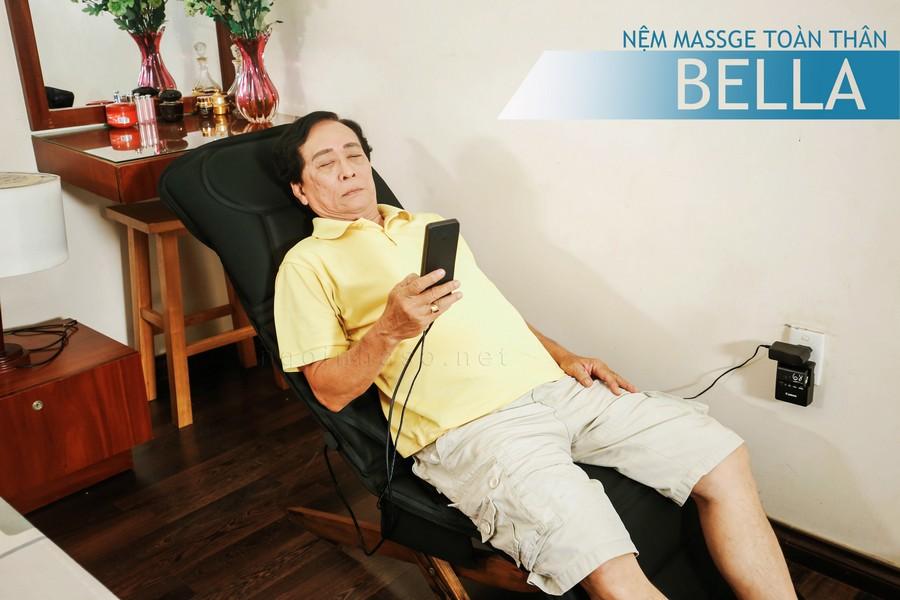 Nệm massage toàn thân bella tiện dụng