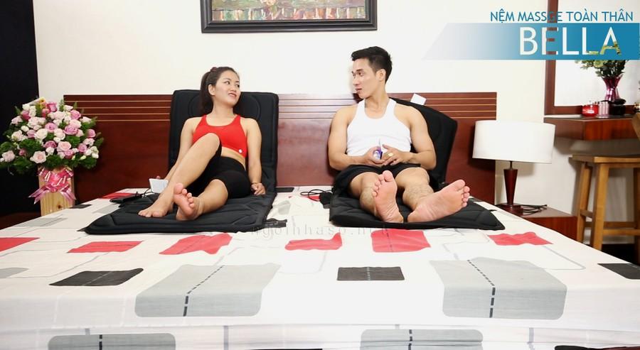 Massage băng nệm tiện dụng tại nhà