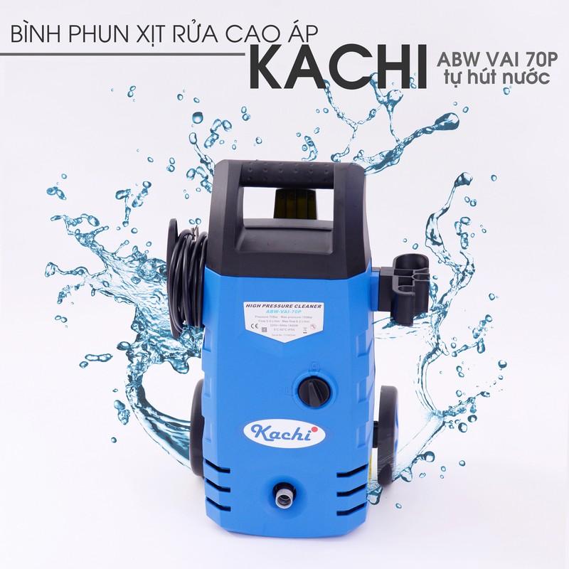 Bình phun xịt rửa cao áp Kachi AB VAI 70P tự hút nước