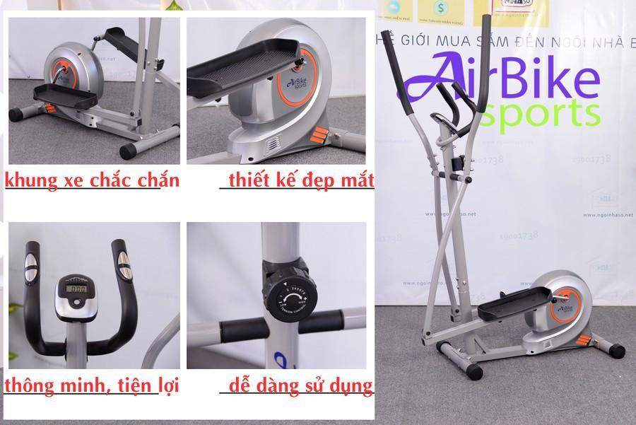 Xe đạp tập thể dục Air Bike AB-02, Xe dap tap the duc Air Bike AB 02